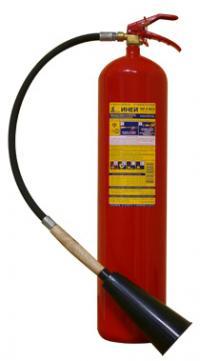 Огнетушитель углекислотный ОУ-5  Иней